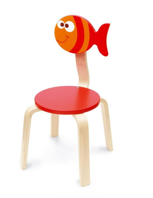 Sedia pesce maurice for Sedie shop on line