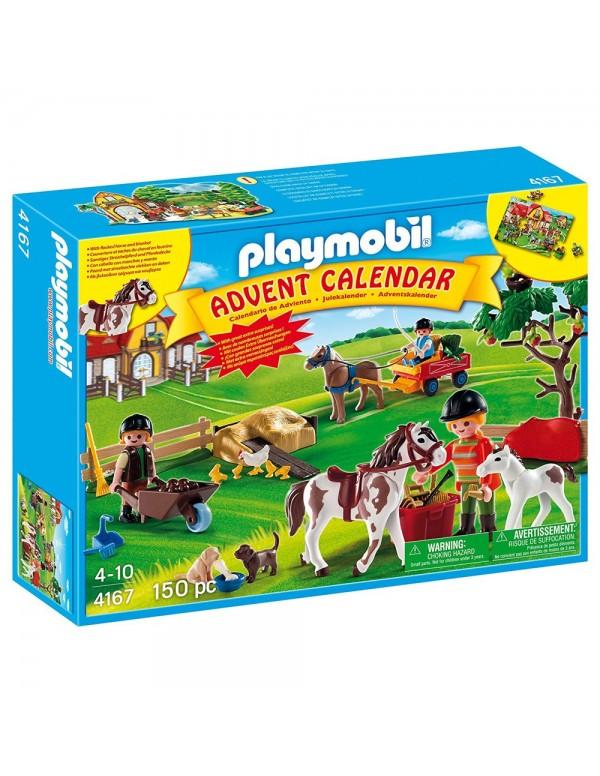 Calendario dell'Avvento Maneggio Playmobil
