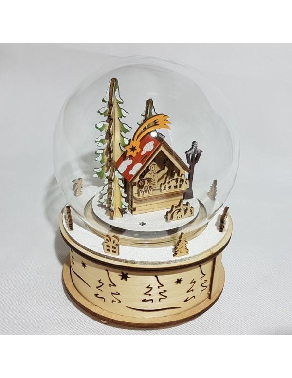 Snow Globe Mercatino Natalizio
