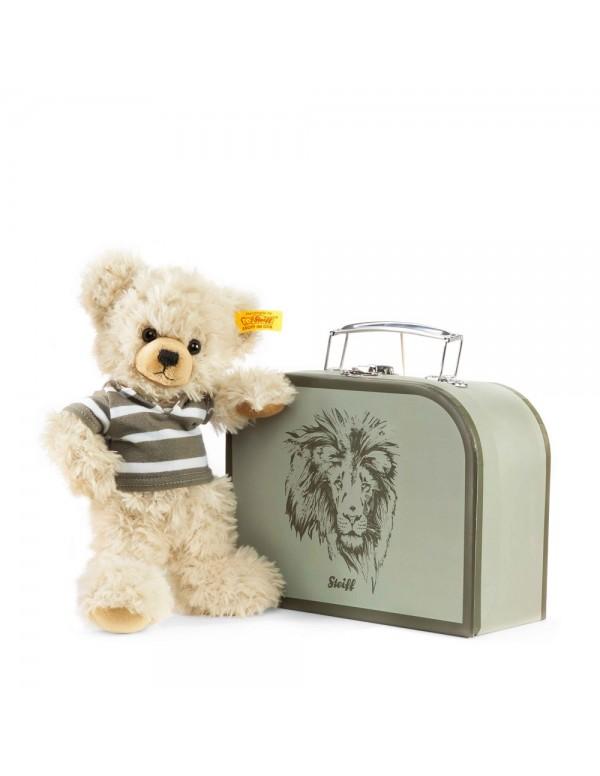 Lenni Teddy bear in suitcase