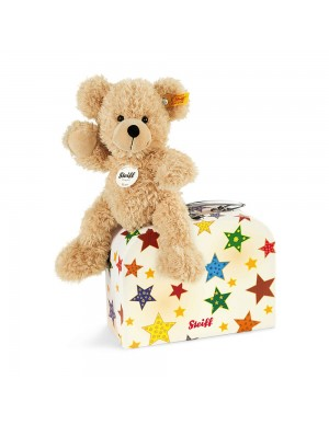 Fynn Teddy bear in suitcase stars