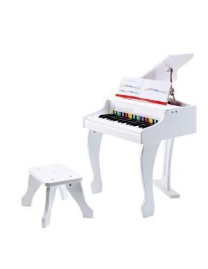 Deluxe White Grand Piano