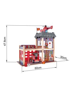 Caserma dei pompieri HAPE misure